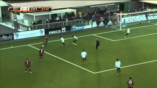 English footballer Jamie Hopcutt solo goal in Sweden.