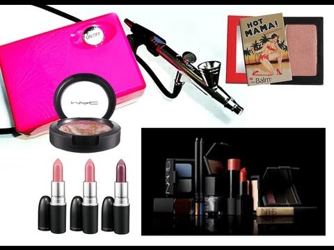 SUBSCRIBE TO WIN!!!! - FREE MAKEUP!!!! - MAC - NARS - GIVE AWAY!!!! - LUMINESS AIR!!!!