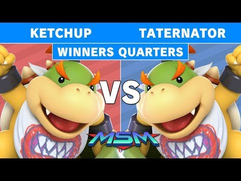 MSM 209 - THC   Ketchup (Ludwig) Vs KH   Taternator (Wendy) WInners Quarters - Smash Ultimate