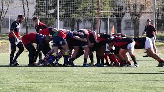 Melé de rugby y ensayo Sony a7r iii S&Q mode