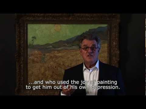 Actorpainter Jeroen Krabbé on Van Gogh's 'Wheatfield with reaper'