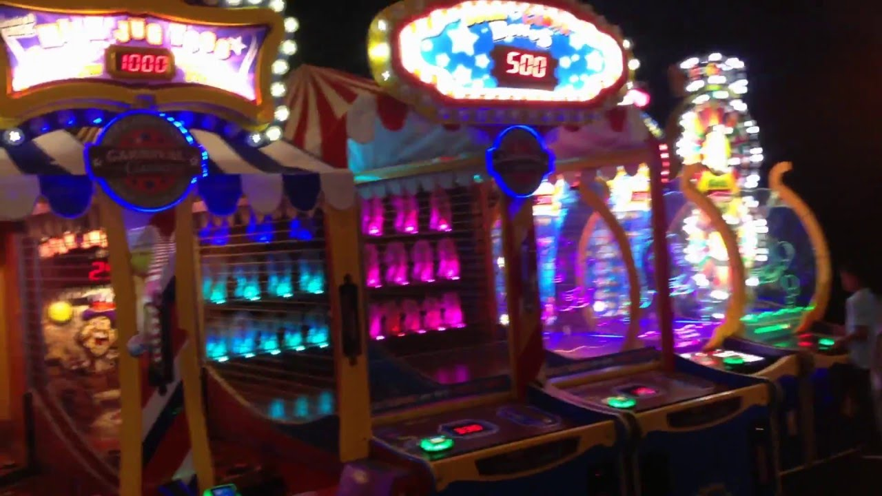 Video Game Arcade Tours Dave And Busters Full Video