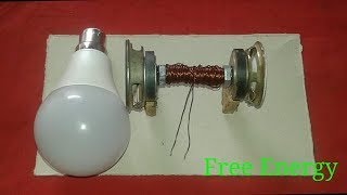 Free Energy Light Bulb Use Copper And Magnets