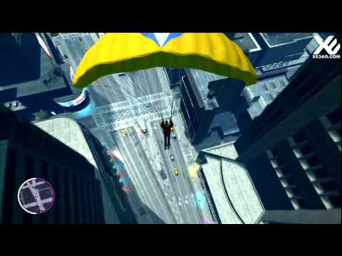 Grand Theft Auto IV: The Ballad of Gay Tony - Base Jumping Gameplay HD