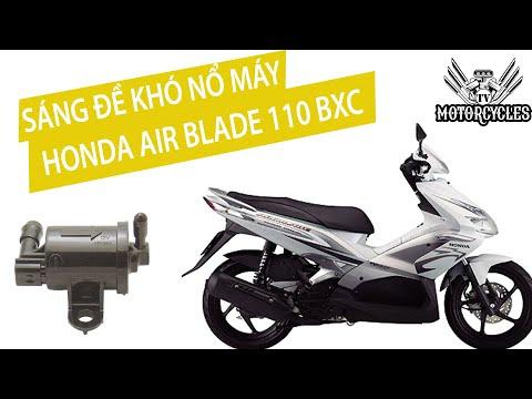 Chẩn đoán bệnh khó nổ Honda Air Blade PXC