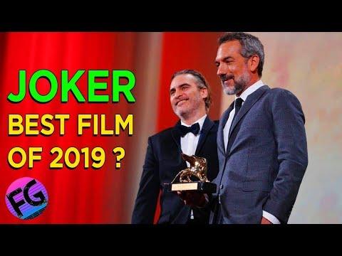 JOKER Wins Golden Lion Best Film Award 2019