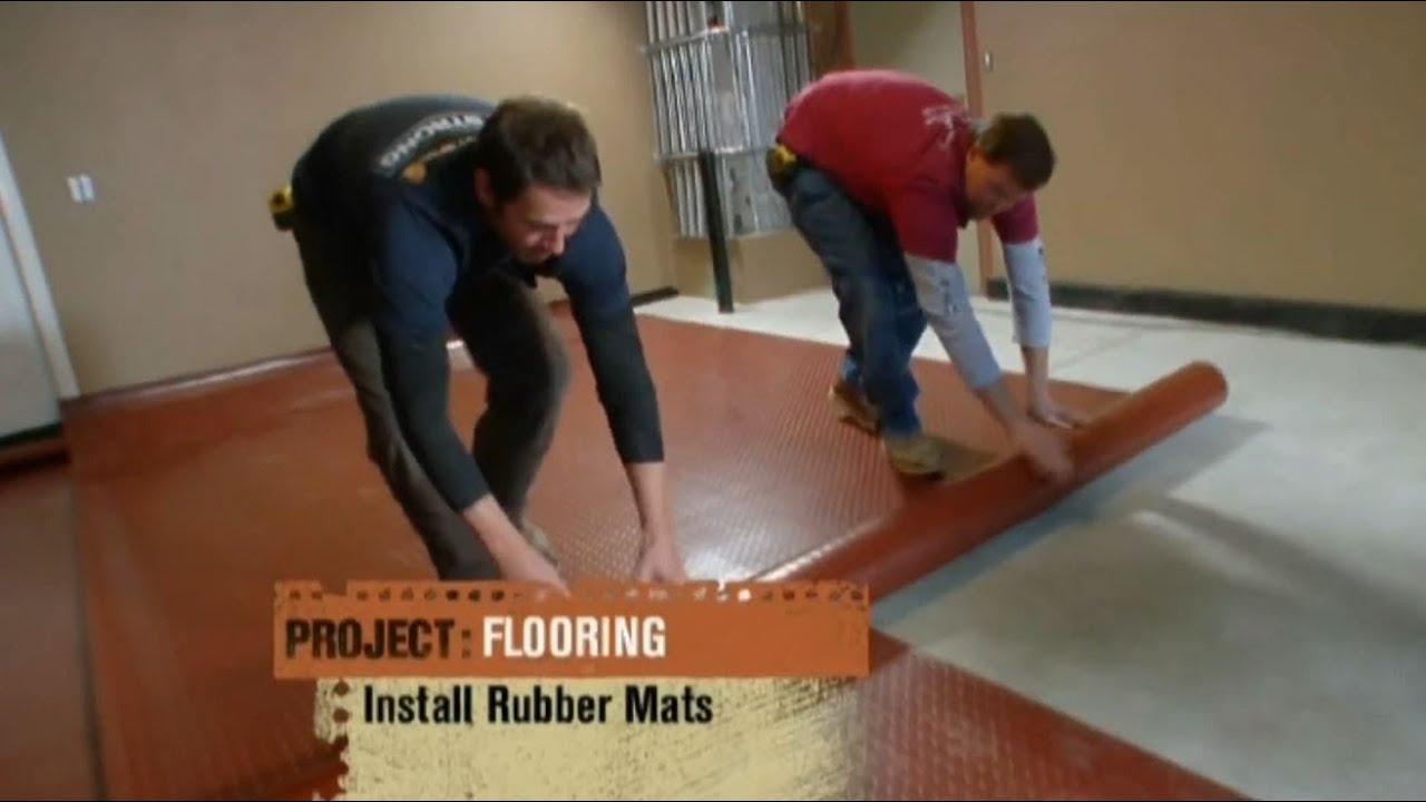 House Crashers Features Coin Garage Flooring For A Home Gym