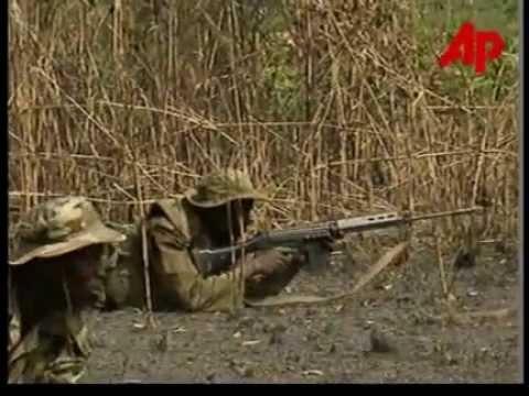 Abacha years  1998: Nigeria's troops ambush rebels in Sierra Leonian civil war