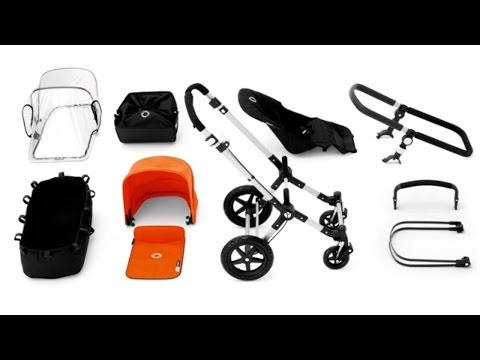 Bugaboo Cameleon³ Demo – Convert From Bassinet To Seat