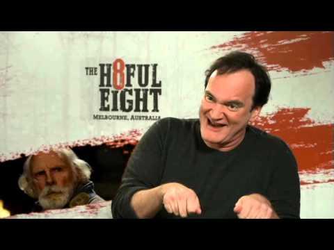 The Hateful Eight - Quentin Tarantino Interview