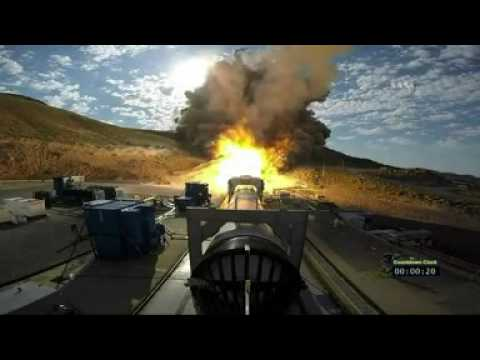 Nasa Tests Its Most Powerful Booster Yet Bbc News Youtube