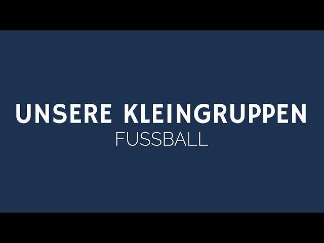 UNSERE KLEINGRUPPEN | FUSSBALL | ELIM KIRCHE GEESTHACHT | HD