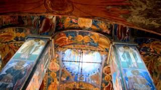 Внутри церкви Ильи Пророка.