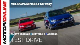 Volkswagen golf 2017 | test drive e-golf, gte, gti performance e r