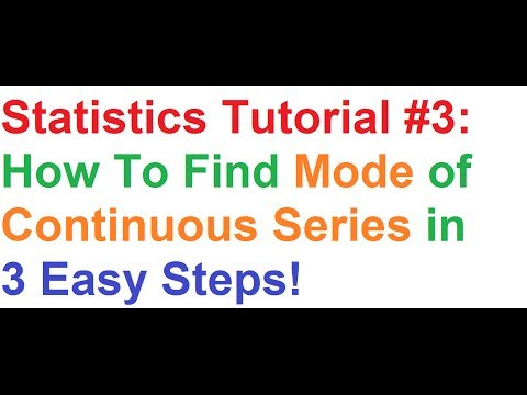 statistics-tutorial-#3:-how-to-find-mode-of-continuous-series-in-3-easy-steps!