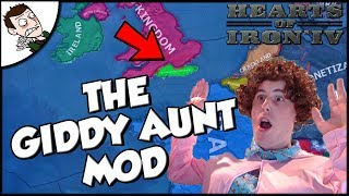 The Giddy Aunt Plays the Giddy Aunt Mod Hearts of Iron 4 hoi4 Gameplay
