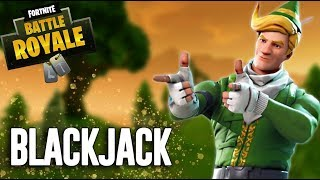 BlackJack - Fortnite Battle Royale Gameplay - Ninja