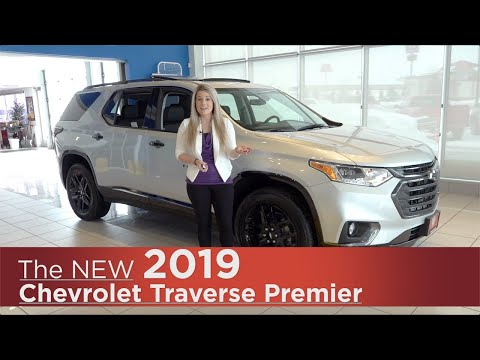 New 2019 Chevrolet Traverse Premier | Mpls, St Cloud, Monticello, Buffalo, Rogers, MN | Review | Wal