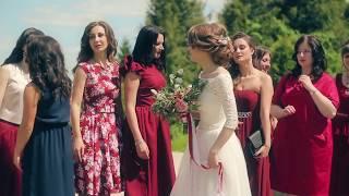 Жених зачитал рэпчик на свадьбе!)...