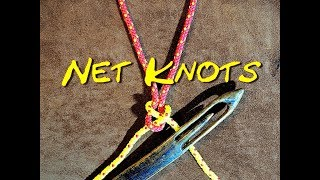 Net Making Knots Close Up - The Two Net Making Knots That I Use and Why