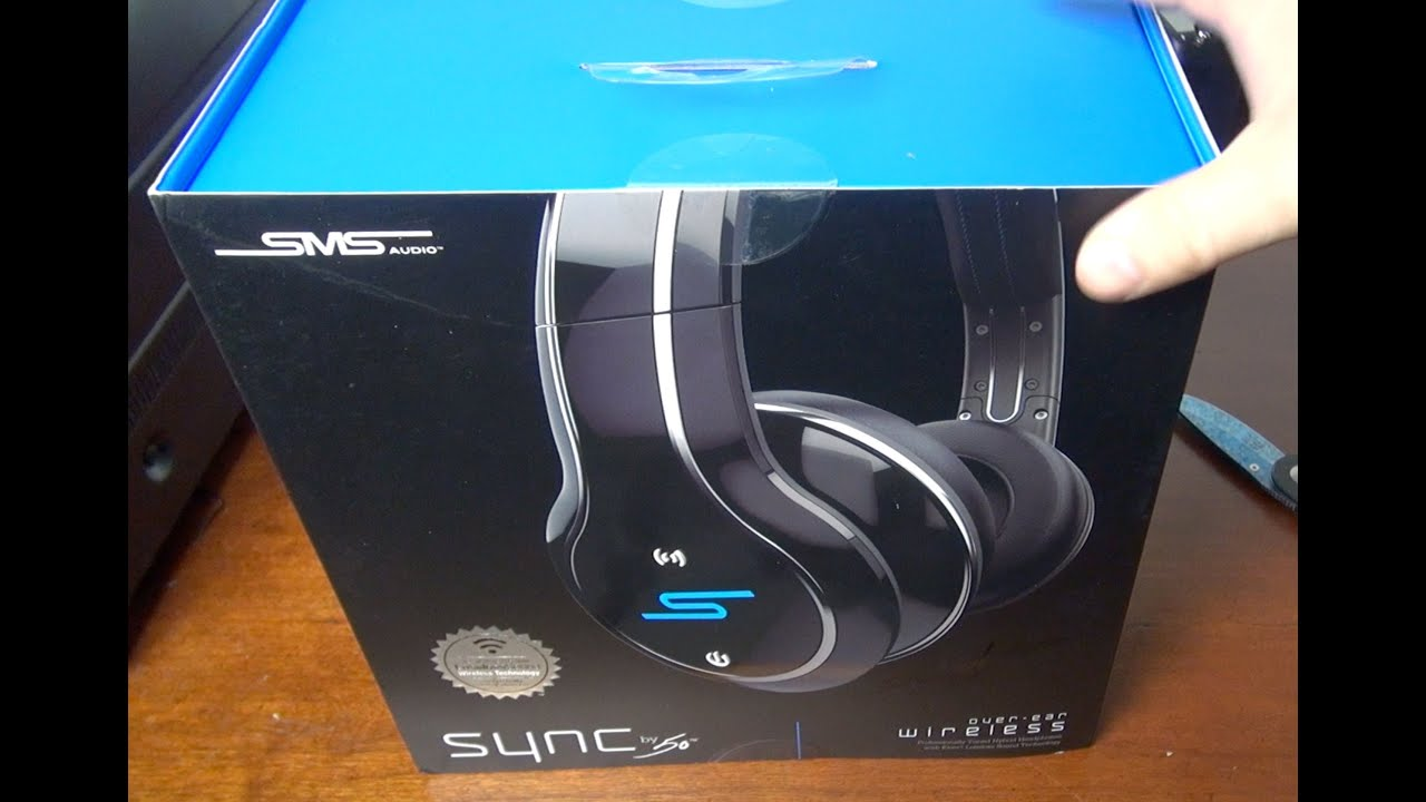 SMS Audio Headphones SYNC by 50 Unboxing / Review - YouTube