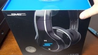 sms audio headphones sync by 50 unboxing review