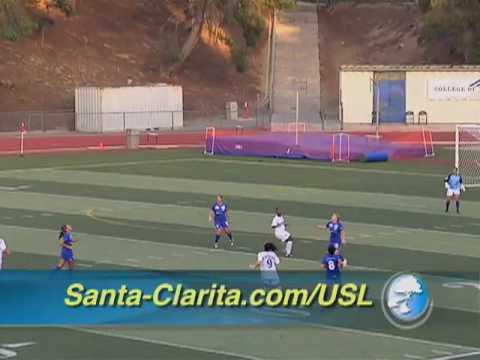 SCVTV.com 6/22/2010 USL Soccer Women