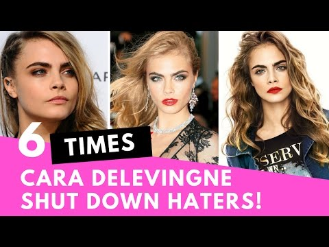 Top 6 Times Cara Delevingne SHUT DOWN Her Haters!