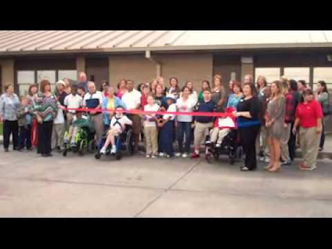 Junior Auxiliary of Houma Ribbon Cutting at School for Exceptional Children