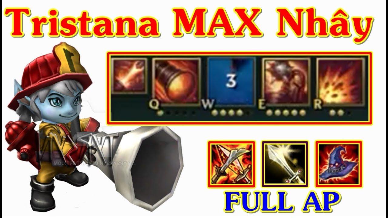 Tristana FULL AP W Chỉ 3s Nhảy Liên Tục URF Max Nhây | Trâu Best Udyr
