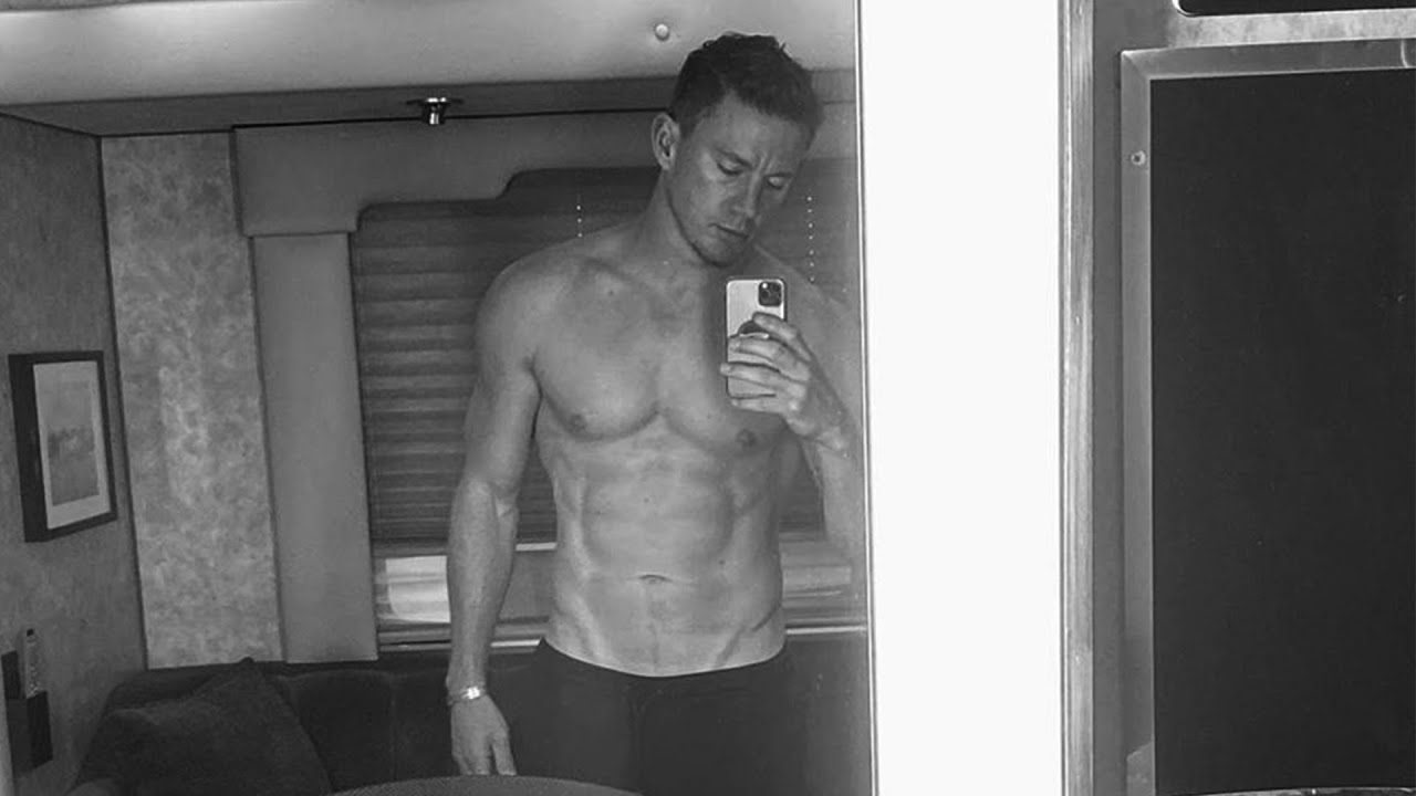 Channing Tatum SHOWS OFF HIS ABS and Says 'Daddy Is Finally Back'