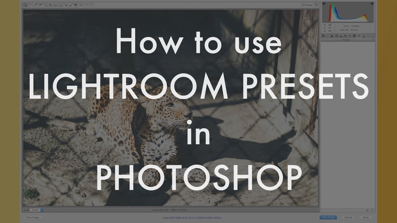 Preset Brewery Lets You Use Lightroom Presets in Photoshop