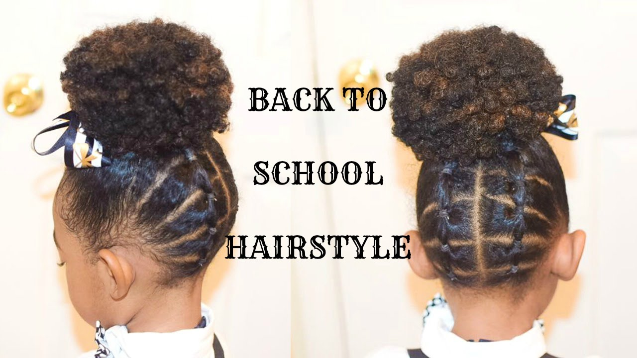 kids natural school hairstyles