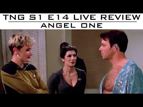 "ST: TNG LIVE Reviews S01E14 ""Angel One"" - Trekyards"