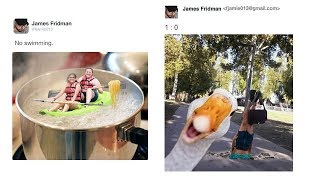 Never Ask This Guy For Help (James Fridman)😜