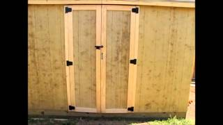 Off Grid Prepper Storage Shed/workshop Construction Part 4 - Roof And Door