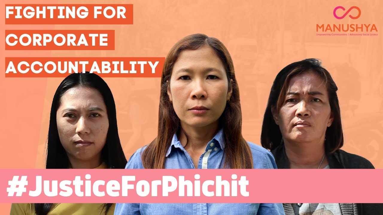 #JusticeForPhichit - Fighting for Justice & Corporate Accountability!