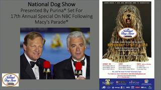 David Frei of The National Dog Show on Thanksgiving Day