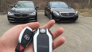Luxury Sedan Fight! |
