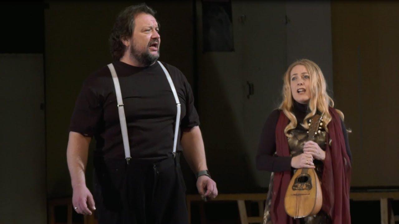 Making-of »Die tote Stadt«, Teil2, Bühnenprobe mit Burkhard Fritz und Manuela Uhl
