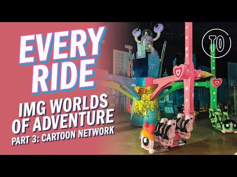 IMG Worlds of Adventure Themepark PART 3: CARTOON NETWORK (POV)