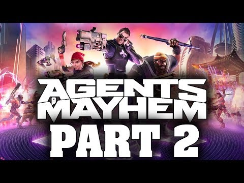 "Agents Of Mayhem (FULL GAME) - Let's Play - Part 2 - ""Raging Arrow"""
