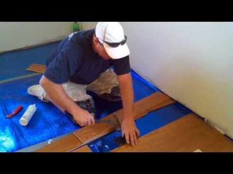 How To Install Floating Hardwood Floor