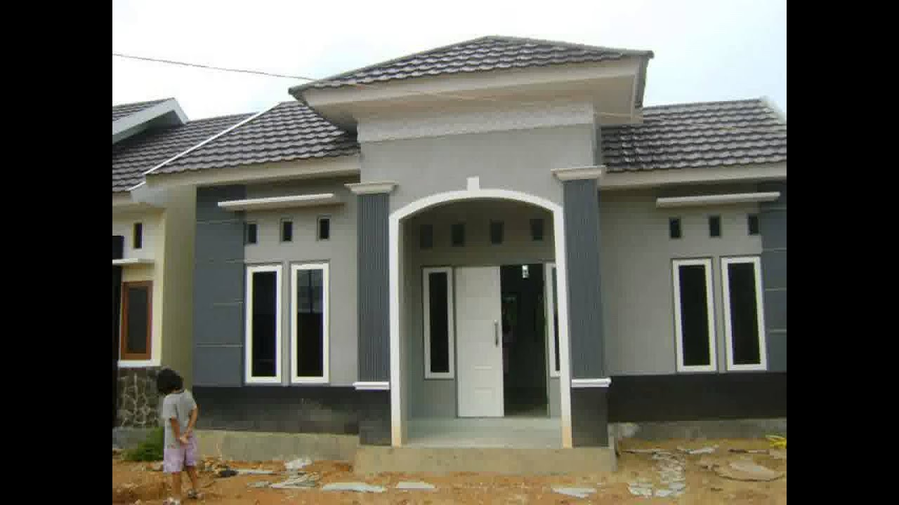 Trend Model Rumah Minimalis Ukuran 8x12 YouTube