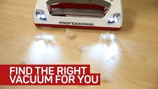 Pick the right vacuum to make cleaning less of a pain