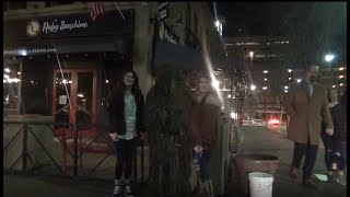 scares the women bushman prank