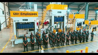 CORPORATE VIDEO I INCREDIBLE MACHINES I HEAVY DUTY HYDRAULIC PRESS MANUFACTURER