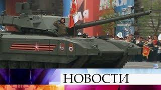 Первый канал будет вести прямую трансляцию военного парада в честь 9 мая на Красной площади.