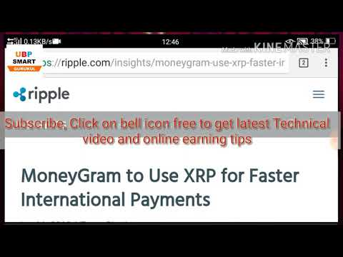 MoneyGram to Use XRP for Faster International Payments/Ripple improve cross-border payments/