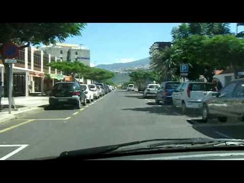 Tenerife puerto de la cruz driving the last 1 kilometer - Hotel bellavista puerto de la cruz ...